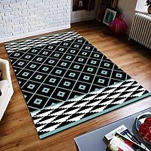 QIAO Teppich Teppiche 3D Teppich Wohnzimmer