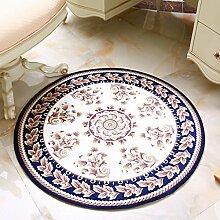 QIAO Teppich Teppiche Europäischen Stil runden