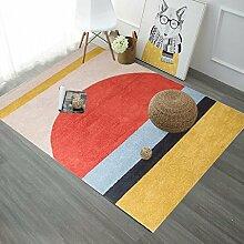 QIAO Teppich Teppiche Nordic Geometrische