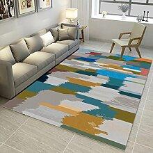 QIAO Teppich Teppiche Nordic Printed Teppich