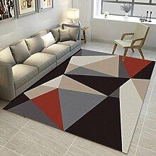 QIAO Teppich Teppiche Schlafzimmer Wohnzimmer