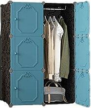 QIAOLI Kleiderschrank zum Aufhängen von Kleidung,