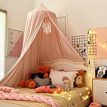 QIAOQ Himmelbett Kinder Bettwäsche hängen Kuppel