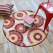 Qiaoquanbao &Europäischer Teppich Runde teppiche