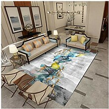 Qiaoquanbao &Europäischer Teppich Teppich Einfach
