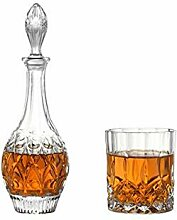 Qiaoxianpo01 7 Set - Glas Dekanter, Kristall