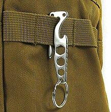 QIDOFAN Schlüssel Werkzeuge Kits Mini EDC-Gang