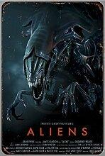 qidushop Aliens Filmposter, Vintage-Reproduktion,