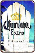 qidushop Corona Extra Find Your Beach Vintage Look