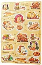 qidushop Lebensmittel-Dekoration, Käse, Brot,