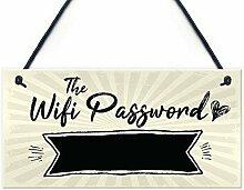qidushop Wandtafel mit WiFi-Passwort, für