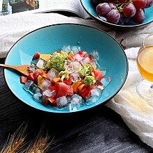 Qifengshop Ocean Heart Keramikschale Western Fruit