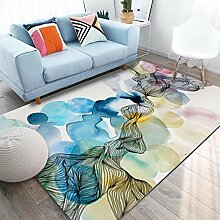 QiJi-Home Großer Rutschfester Teppich