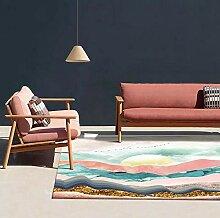 QiJi-Home Teppich Modern Wohnzimmer Kinderteppich
