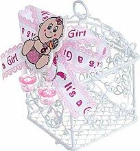 QILICZ Gastgeschenke Baby Taufe Schachtel, 12
