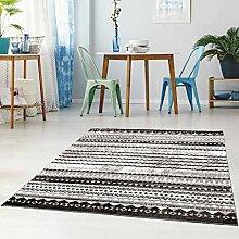 Qilim Flachflor Teppich Läufer Modern Gemustert