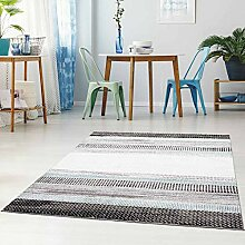 Qilim Flachflor Teppich Läufer Modern Meliert