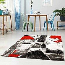 Qilim Flachflor Teppich Läufer Modern Streifen
