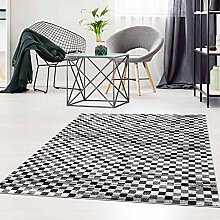 Qilim Flachflor Teppich Modern Meliert Abstrakt