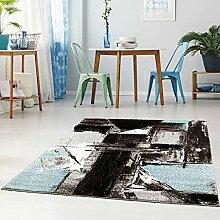 Qilim Flachflor Teppich Modern Skandi-Design