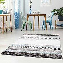 Qilim Flachflor Teppich Modern Streifen
