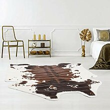 Qilim Kunstfell-Teppich tierfellförmig mit