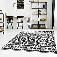 Qilim Teppich Flachflor Modern mit Ethno-Muster in