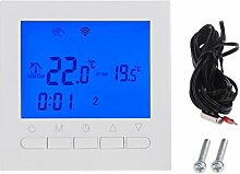 Qiman WIFI LCD Elektroheizung Thermostat