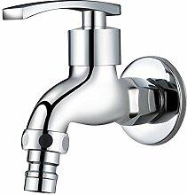 QIMEIM Bad Wasserhahn Waschtischarmatur Kaltes