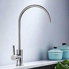 QIMEIM Küchenarmatur Wasserhahn Küche 304