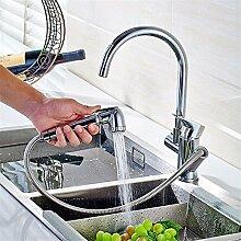 QIMEIM Küchenarmatur Wasserhahn Küche