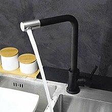 QIMEIM Küchenarmaturen Spüle Mischbatterie