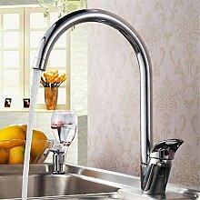 QIMEIM Professionelle Küchenspüle Wasserhahn