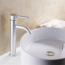 QIMEIM Wasserhahn Badarmatur Waschbeckenarmatur 1