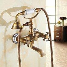 QIMEIM Wasserhahn Badarmatur Waschbeckenarmatur