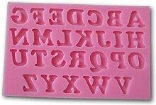 QINCH HOME Allforhome 26 Großbuchstaben Alphabet