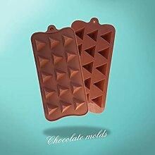 QINCH HOME Clest DIY 15 Löcher Dreieck Form