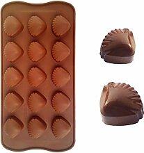 QINCH HOME Clest DIY 15 Löcher Shells Form