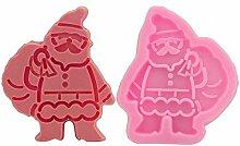 QINCH HOME Clest Weihnachten Weihnachtsmann