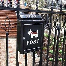 QINCH HOME Europäischer Briefkasten im Freien