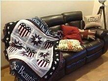 QINCHEH Sofa Teppich Handtuch Freizeit Decke