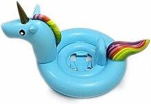 QIND Baby Pool Float, Einhorn aufblasbares
