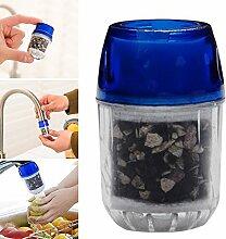 qind Wasserhahn Wasser Filter, Anion anthrazit,