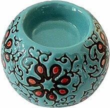 Qing Chen handgemachte Keramik Kerzenhalter