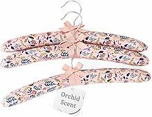 Qingbei Rina Kleiderbügel mit Ochidduft für