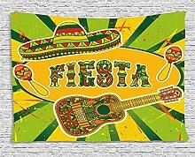 qinghexianpan Fiesta Stickset, bunt, Latino