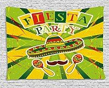 qinghexianpan Fiesta Wandteppich, Sprites mit