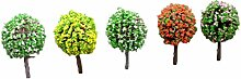qingsun 5x Miniatur Baum Pflanzen Zubehör