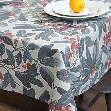 Qingv Klassische amerikanische Landesmarke Tischdecken/TV-schrank Gewebe Tischdecken, Tischdecken, 130 * 200 cm.