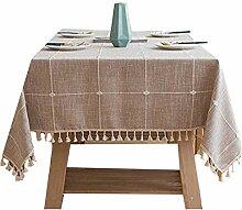 QINJIE Tischdecke Tischw?sche Tischdekoration